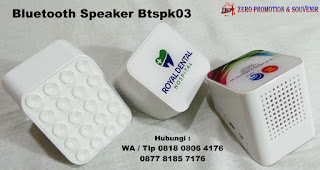 Souvenir Bluetooth Speaker Btspk03 Speaker Aktif / Speaker Super Bass