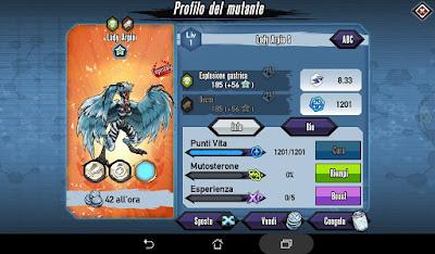 Mutants: Genetic Gladiators Breeding video N°162 (Lady Harpy - Lady Harpy)