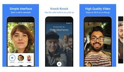 Google Duo, para hacer video llamadas instantaneas