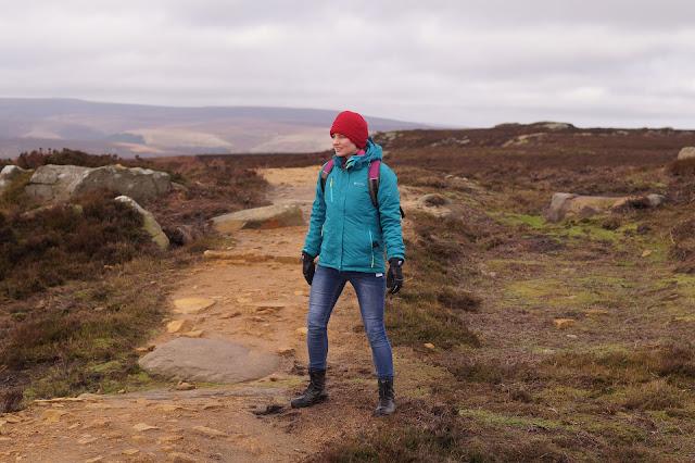 Walking in the Peak District in winter