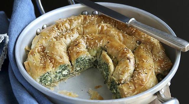 torta di formaggio e spinaci senza glutine