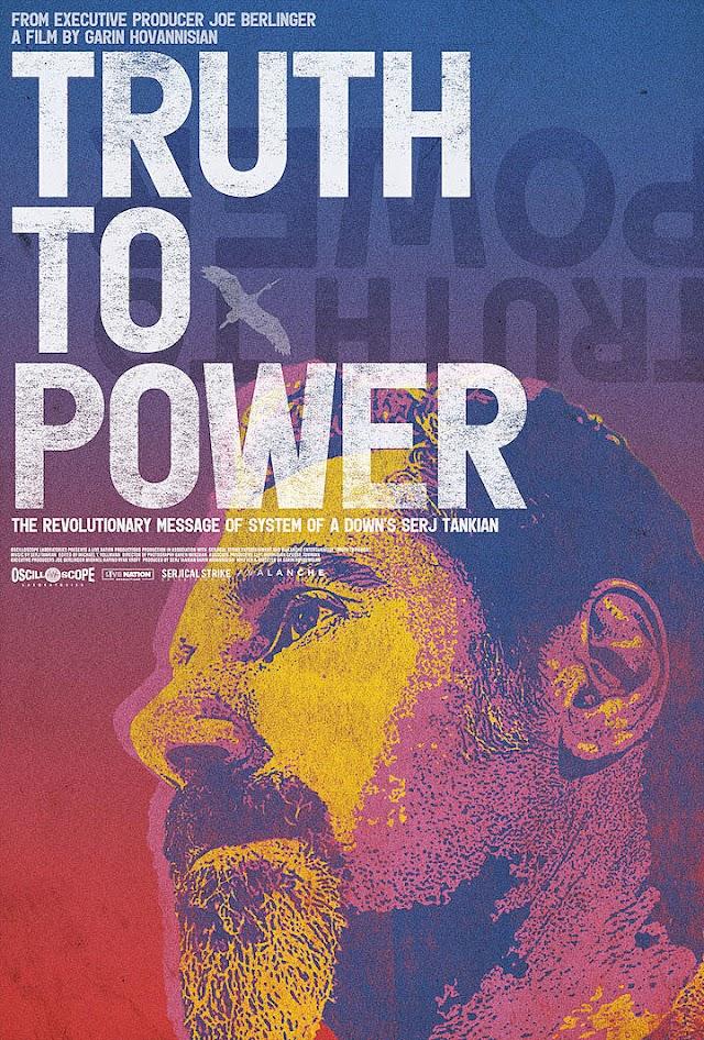 """""""Truth to Power"""" é o novo documentário de Serj Tankian"""