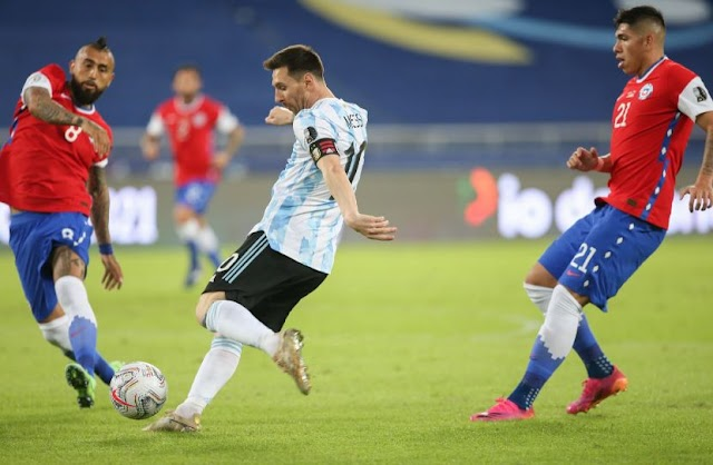 Messi scored the goal, but Argentina did not win