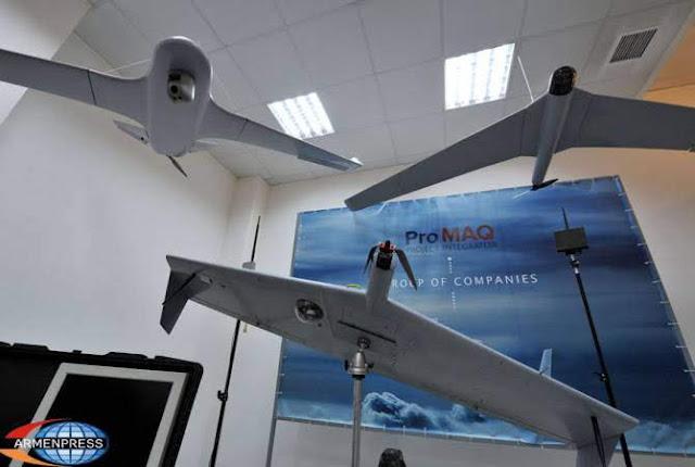 Armenia adquiere drones de Artsaj