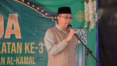 Hadiri Wisuda Tahfizh Qur'an di Loteng, Gubernur Zul Himbau Disiplin Prokes
