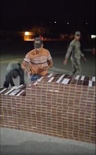 ERD ocupa Jeepeta cargada con 1,742 paquetes de  cigarrillos de procedencia extranjera en Santiago Rodríguez.