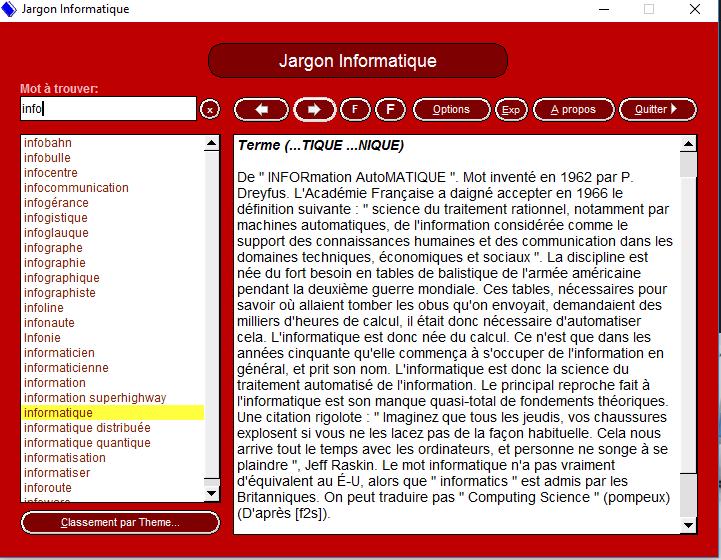 Jargon informatique 1 9 le meilleur sur le meilleur for Jardin informatique