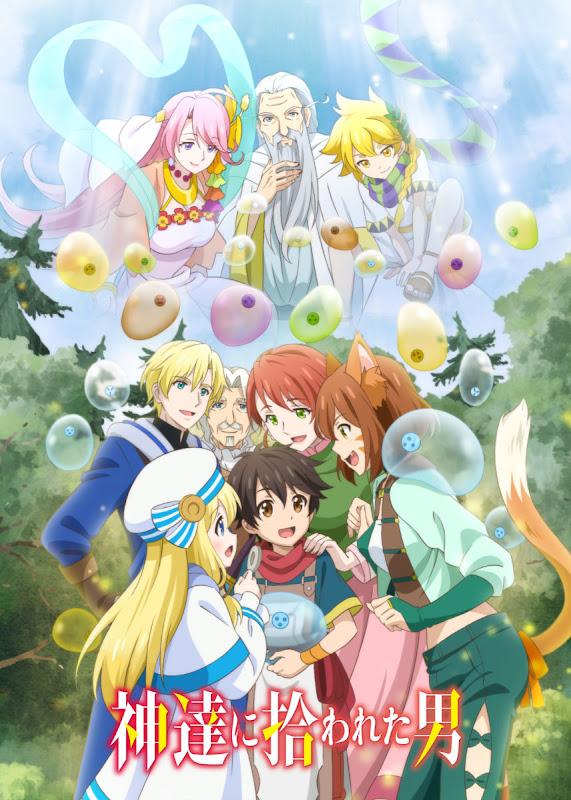 Nuevo póster del anime Kami-tachi ni Hirowareta Otoko