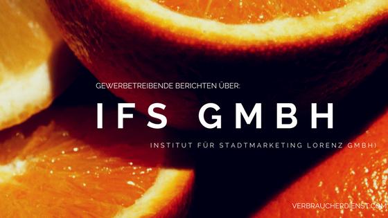 Beitragsbild: Über IFS Lorenz GmbH (Institut für Stadtmarketing Lorenz GmbH)