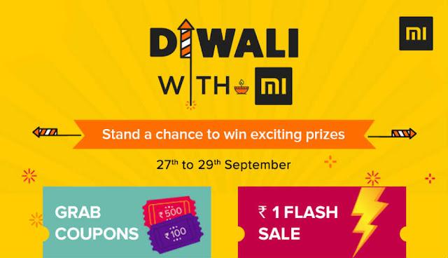 Xiaomi 'Diwali with Mi' sale  Rs 1 flash sale