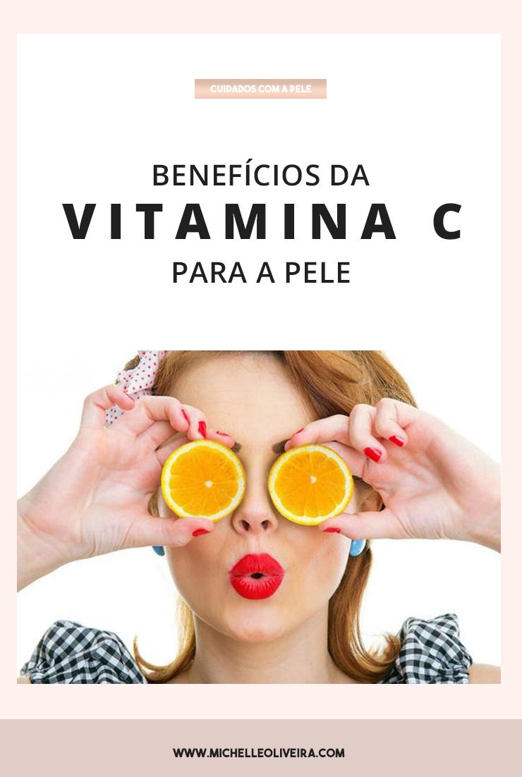 confira os benefícios da vitamina C para a pele