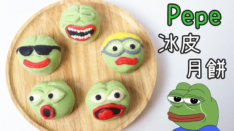 Pepe Frog Snowy Mooncake Pepe青蛙冰皮月餅