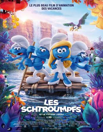 Smurfs The Lost Village 2017 Hindi Dual Audio BRRip Full Movie Download