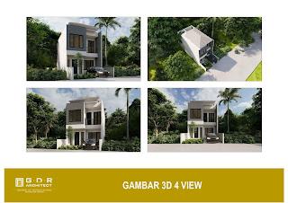 3d gambar desain rumah 2 lantai 6x14 (2)