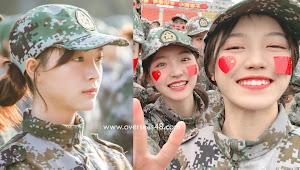 Xie Leilei GNZ48 dan Yi Jiaai SNH48 Jalani Pelatihan Wajib Militer