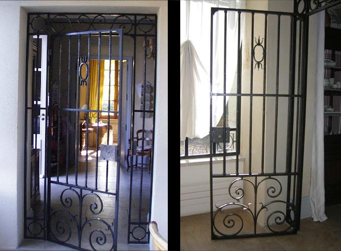 Blog de la maison de l 39 imaginarium l 39 ambiance factory 100 sur mesure portes d 39 int rieurs for Portes et fenetres en fer forge