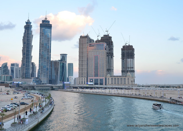 Hotels along Dubai Water Canal