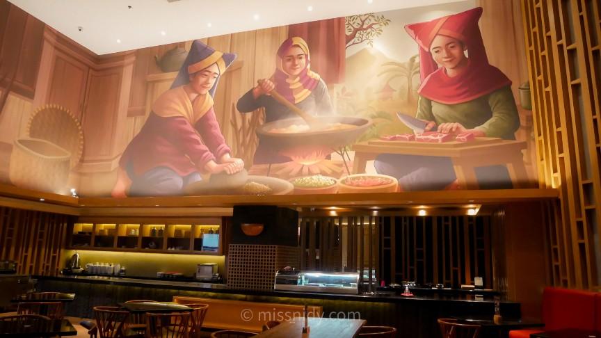 mandeh restoran jhl solitaire hotel