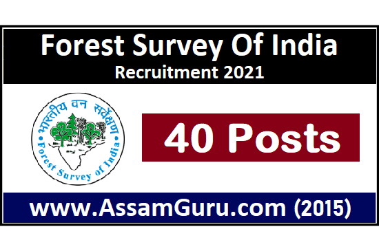 forest-survey-of-india-Job-2021