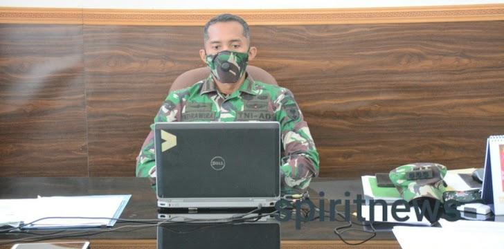 Pangdam Hasanuddin Menyambut Positif  Kegiatan Pekan Literasi Dan Kepemimpinan SMA Se-Kota Makassar