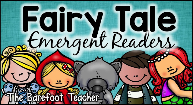 You've found them! The perfect Fairy Tales Emergent Readers for your Preschool, Kindergarten, or First Grade kids. These easy to read books will go right along with the other activities and crafts you have planned for your fairy tales unit. Plus, they are a perfect way to practice high frequency words! Plus, you can download one for FREE! #fairytale #littleredhen #fairytales #kindergarten #firstgrade #emergentreaders #fairytalesforkids #freedownload