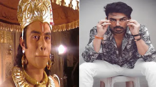 Vikram mastal as 'Hanuman' in 'ramayan'