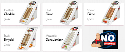 Dardanel Mister (Mr.) No Gurme Serisi Sandviçler ve Mozarella Dana Jambon Sandviç İncelemesi