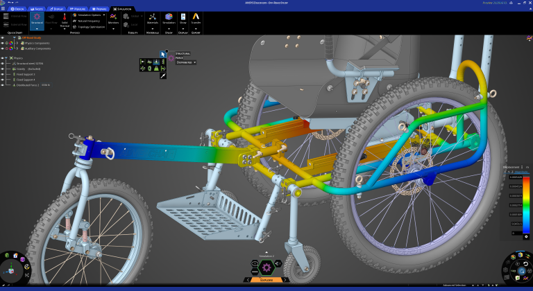 ansys discovery dimulacion