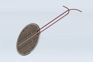 Kapton (Polyimide) Etched Foil Heating Element