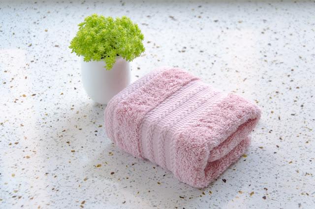 La toalla rosa