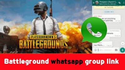 Battleground whatsapp group link, Battlegrounds Mobile India WhatsApp Group Link 2021?