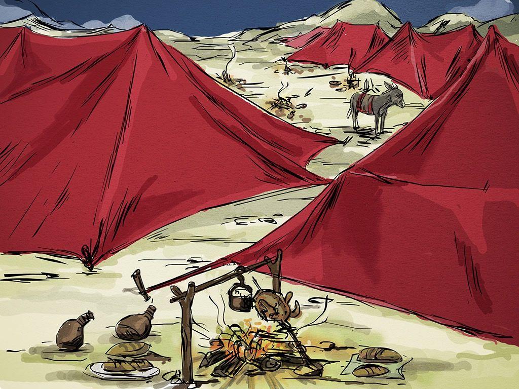 Religious Artist Elisha And The Siege Of Samaria