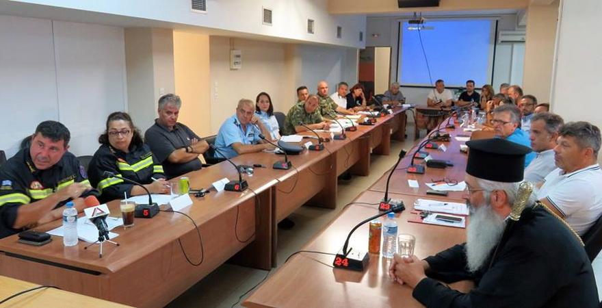 Έκτακτη συνεδρίαση του Συντονιστικού Οργάνου Πολιτικής Προστασίας Έβρου