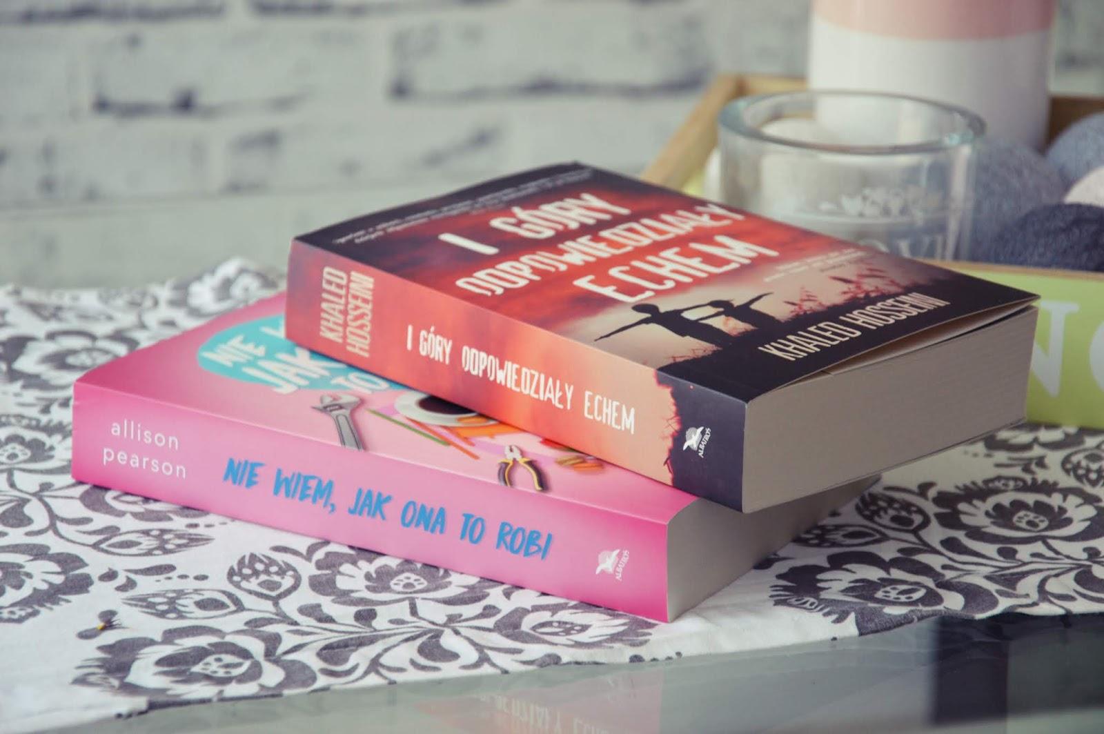 Z cyklu: czytanie nie boli, czyli co ostatnio pochłonęłam ;)