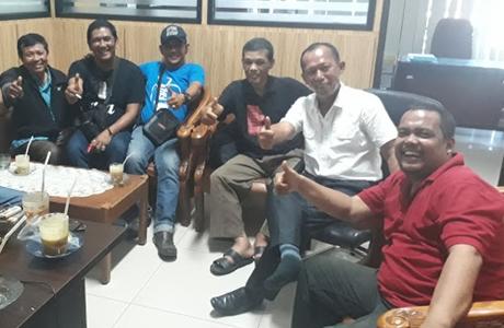 Sejumlah Pimpinan Media Online di Sumbar Kunjungi Humas Kota Padang