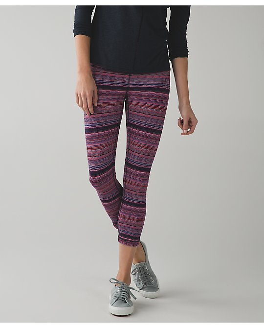 lululemon wunder-under naval-flare-space-dye-twist