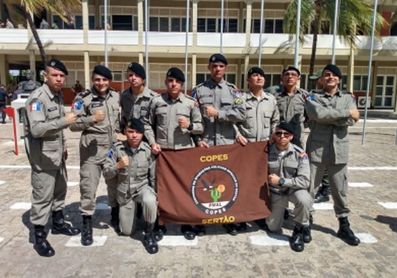 Policiais Militares do 7º BPM e 9º BPM  de Alagoas  concluem Estágio de Adaptação à Caatinga em Petrolina/PE