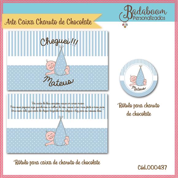 Maternidade, Menino, caixa de charuto, chocolate, charuto de chocolate, rótulo, tag, arte digital, kit digital, arte personalizada