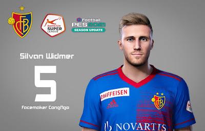 PES 2021 Faces Silvan Widmer by CongNgo