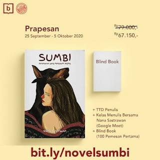 Novel Sumbi, Perempuan yang Mengawini Anjing