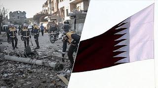 قطر.. حملة خيرية تجمع 41 مليون دولار لدعم النازحين السوريين