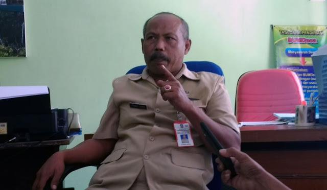 Sekretaris Panitia Pilkades Tingkat Kabupaten, Syamsul Arifin