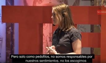 """Te lo advertí!: Charlas de TEDx Talks normalizan la PEDOFILIA presentándola como """"orientación sexual NATuRAL"""" #Katecon2006"""