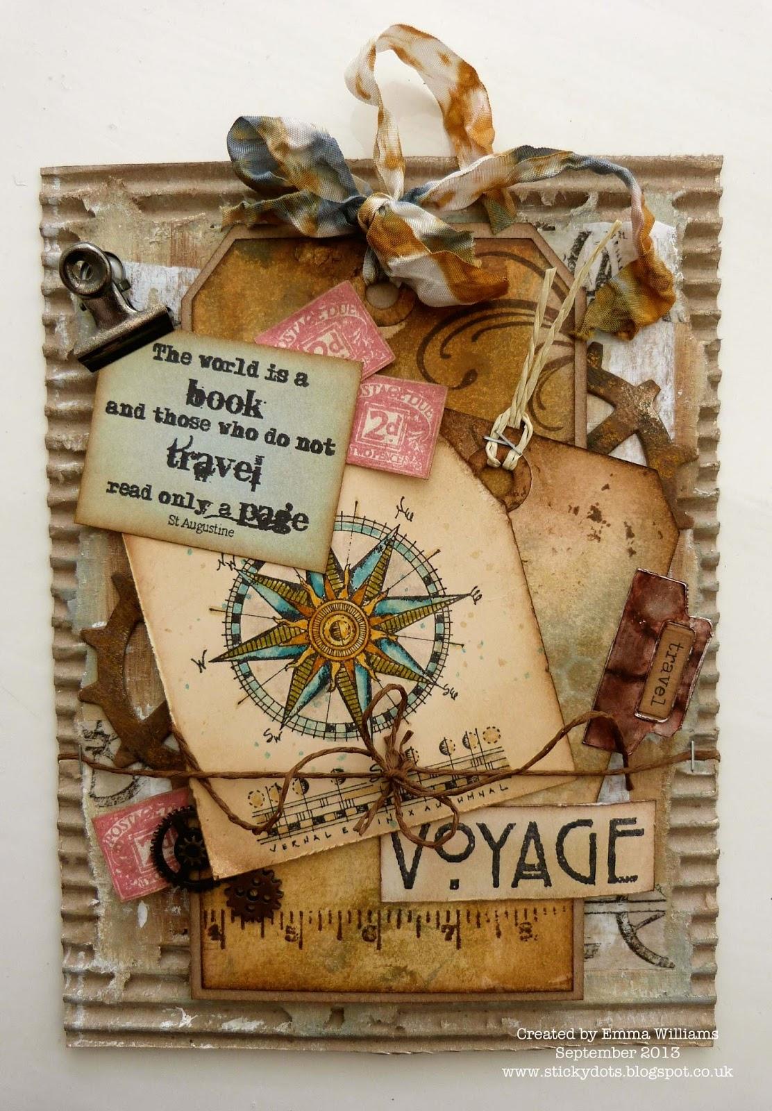 The Artistic Stamper Creative Team Blog Voyage By Emma