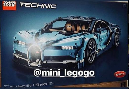 anj's brick blog: lego technic bugatti chiron (42083) set image leaked!
