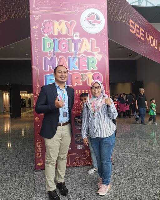 Cikgu Azrin dari Selangor yang aktif dengan digital dalam pendidikan