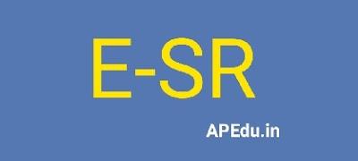 E-SR registration is much easier