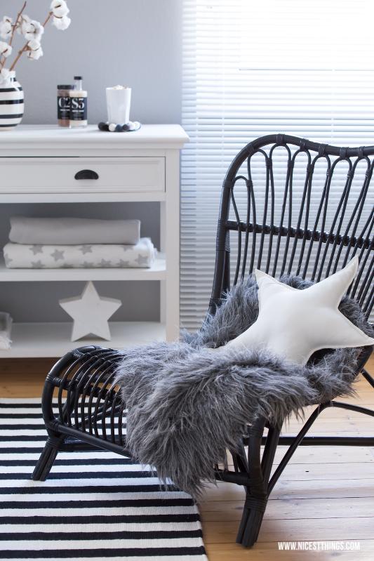 Korbstuhl schwarz House Doctor Lounge Chair Rattan #loungechair #housedoctor #korbstuhl #rattan