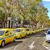 os táxis vão encher as praças