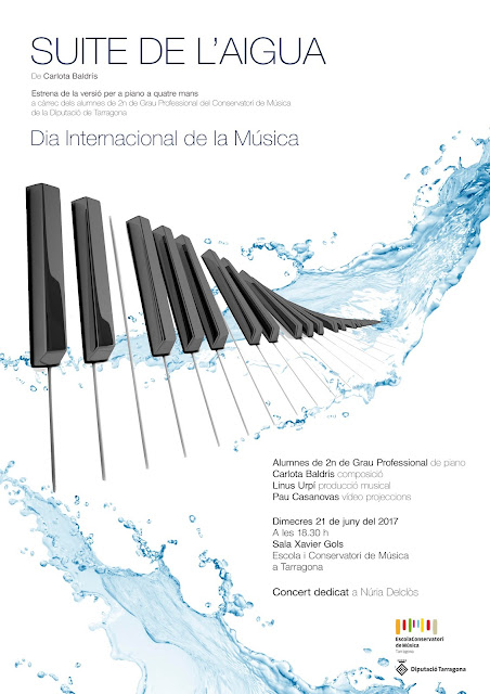 Esguard de Dona - Suite de l'Aigua Concert Dia Internacional de la Müsica Tarragona 21 de juny 2017